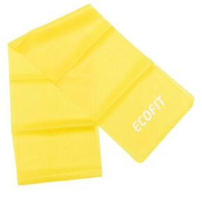 Еспандер стрічковий Ecofit MD1318 TPE 1,8-2,7кг 1200*150*0.3мм жовтий