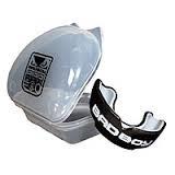 Капа односторонняя (одночелюстная) двухкомпонентная BAD BOY BO-6005 (термопластик,пластиковый футл.)