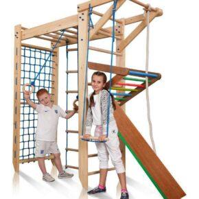 Акция! Деревянный комплекс П-образный детский уголок Спортбейби Sport 5-220 SportBaby