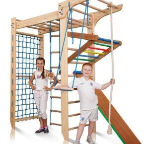Акция! Детский деревянный П-образный Спортивный комплекс Спортбейби Kinder 5-220