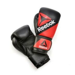 Боксёрские перчатки Reebok Combat RSCB-10070RDBK 12oz red/black