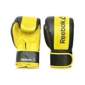 Боксёрские перчатки Reebok Retail RSCB-11112YL 12oz yellow