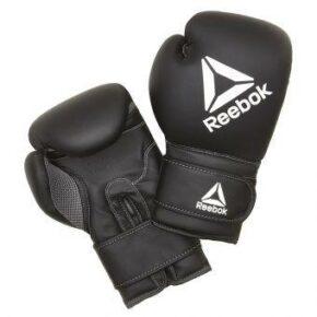 Боксёрские перчатки Reebok RSCB-12010BK 12oz черный