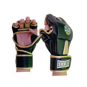 Перчатки MMA Excalibur 665 L золотой/черный