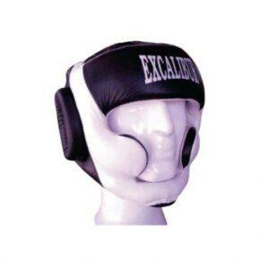 Шлем боксерский Excalibur 714 XL белый/черный