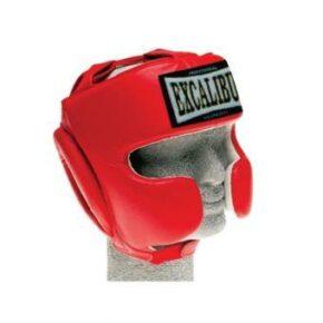Шлем боксерский Excalibur 716 M красный
