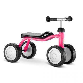 Детский Беговел Велобег-Каталка Пуки от 2 лет Puky lino P1 Розовый