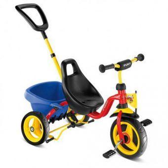 Трехколесный велосипед Puky CAT 1 S Rot 2324