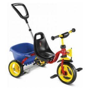 Трехколесный велосипед Puky 2363 CAT 1 L Capt'n Sharky Красный