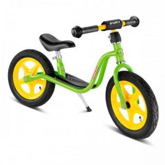 Детский Беговел-велобег мотоцикл от 2 лет Пуки Puky LR 1L 4008 Салатовый