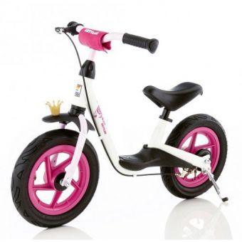Детский Беговел-велобег мотоцикл от 2 лет Kettler Spirit Air Princess белый