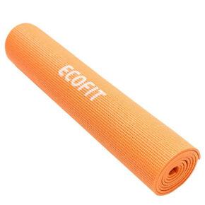 Коврик для фитнеса Ecofit MD9010, 1730*610*6мм оранжевый