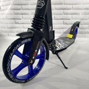 Складной двухколесный самокат с амортизаторами колесо 200 мм Бест Скутер Best Scooter