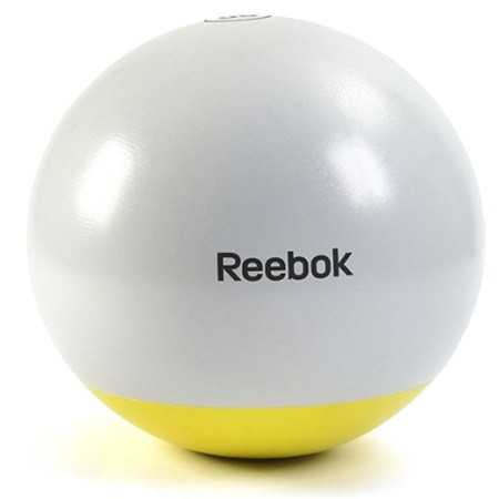 Мяч гимнастический Reebok RSB-10015 — 55 см серый/желтый