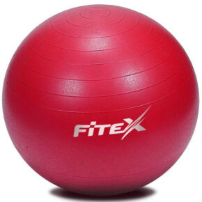 Мяч гимнастический Fitex MD1225-55 с защитой от разрыва, 55 см