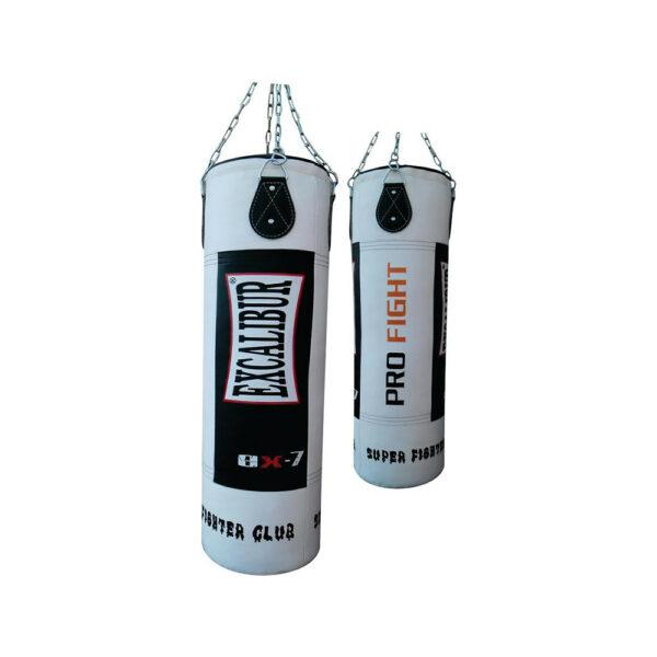 Боксерский мешок Excalibur 1213 PU 120 x 35 см c цепью