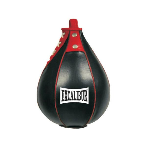Кожаный спидбол Excalibur 913 черный