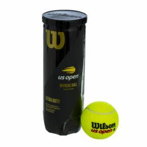 Мяч для большого тенниса WILSON US OPEN WRT106200 3шт салатовый