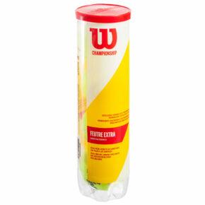 Мяч для большого тенниса WILSON CHAMPIONSHIP WRT110000 4шт салатовый