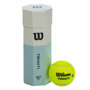 Мяч для большого тенниса WILSON TRINITI WRT125200 3шт салатовый