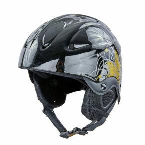 Шлем горнолыжный MOON MS-2947-S S черный-золотой