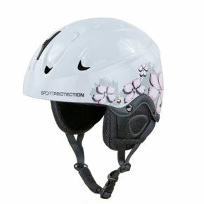 Шлем горнолыжный MOON MS-2948 M-S белый-розовый