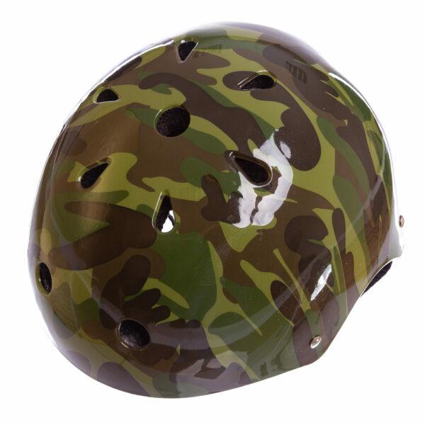 Шлем для экстремального спорта Кайтсерфинг Zelart SK-5616-010 L-56-58 камуфляж зеленый