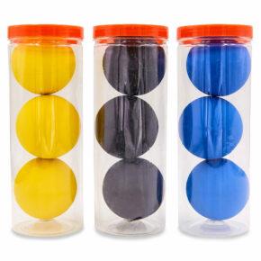 Мяч для сквоша HT-6896 3шт цвета в ассортименте
