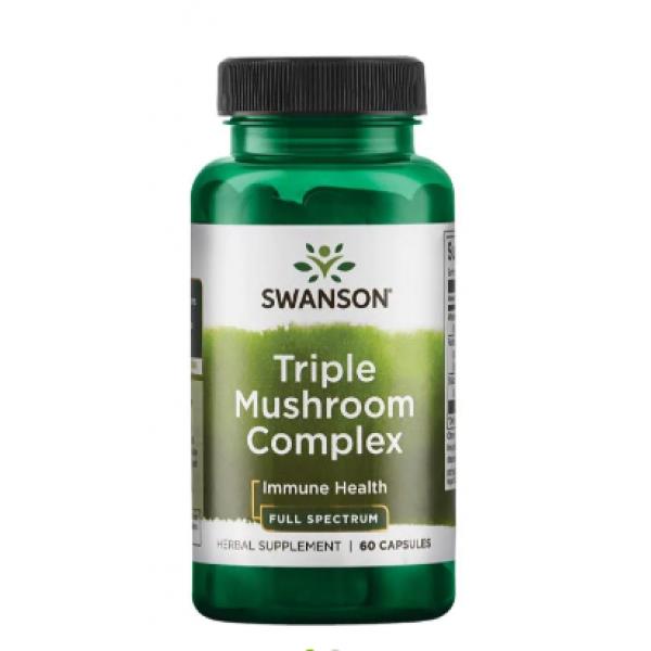 Triple Mushroom Complex — 60 Caps