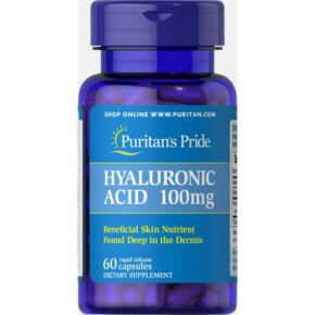 Hyaluronic Acid 100 mg — 60 caps