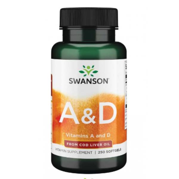 Vitamin A D — 250 Sgels Per Bottle