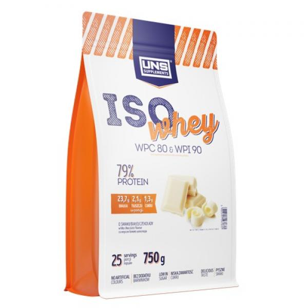 Iso Whey — 750g White Chocolate with Strawberry