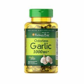 Odorless Garlic 1000 mg — 100 Rapid Release softgels