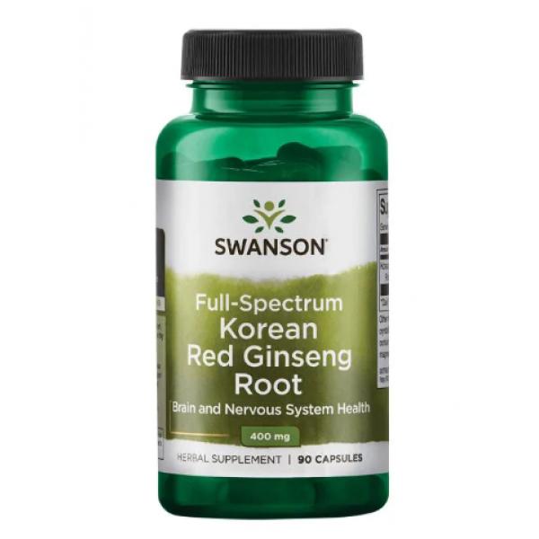 Korean Red Ginseng Root 400 mg — 90 Caps