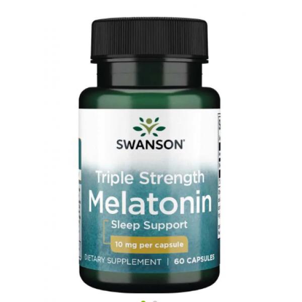 Melatonin 10 mg — 60 Caps