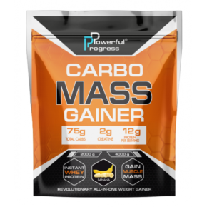 Carbo Mass Gainer — 2000g Banan