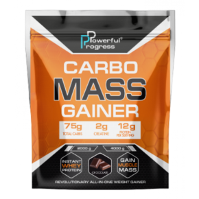 Carbo Mass Gainer — 2000g Chocolate