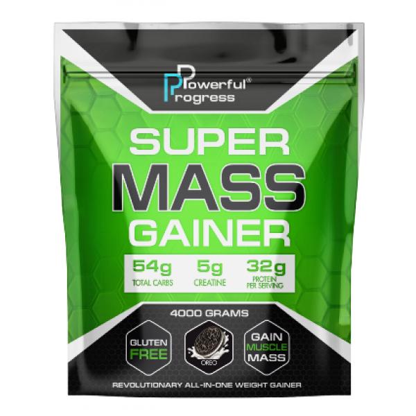 Super Mass Gainer — 4000g Oreo