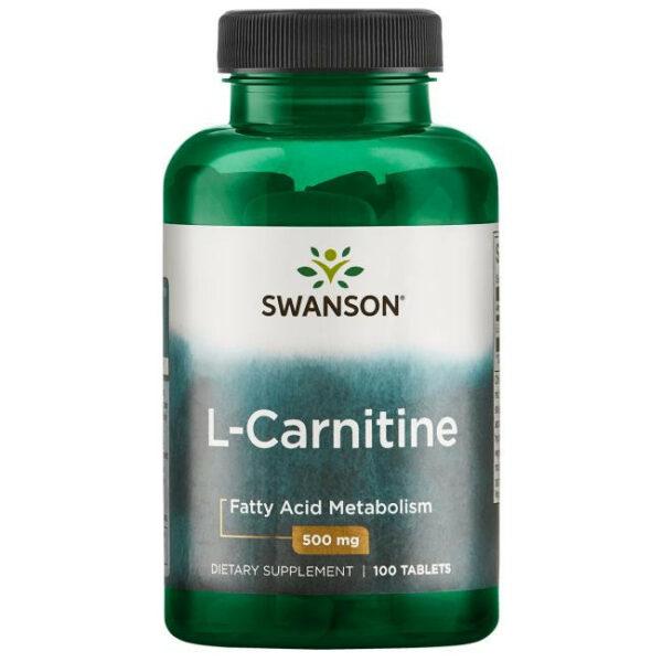 L-Carnitine 500mg — 100caps