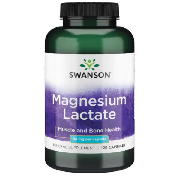 Magnesium Lactate 84mg — 120caps
