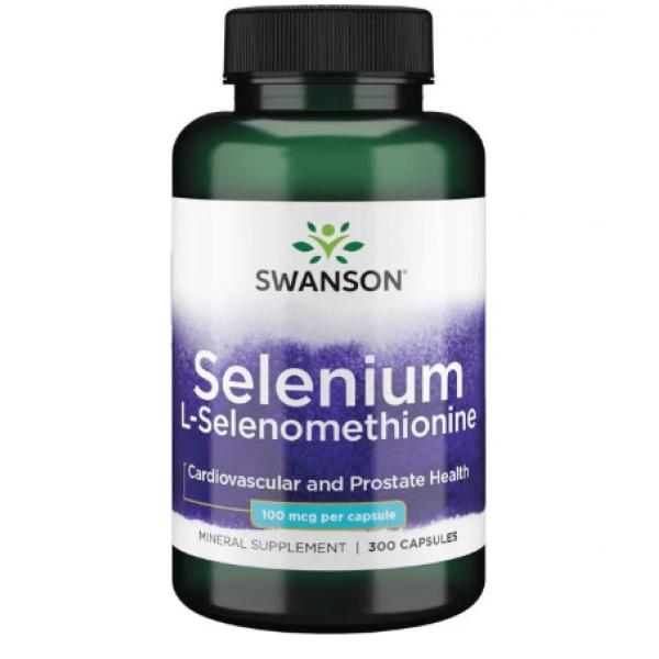 Selenium L-Selenomethionine 100mcg — 300cap