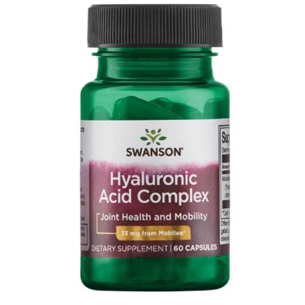 Hyaloronic acid complex 33mg — 60caps