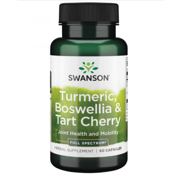 Turmeric Boswellia Tart Cherry — 60caps