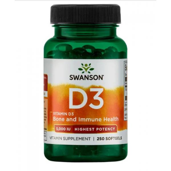 Vitamin D-3 400iu — 250caps