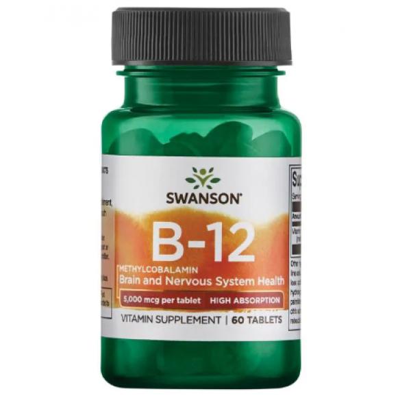 B-12 Methycobalamin — 60 veg caps