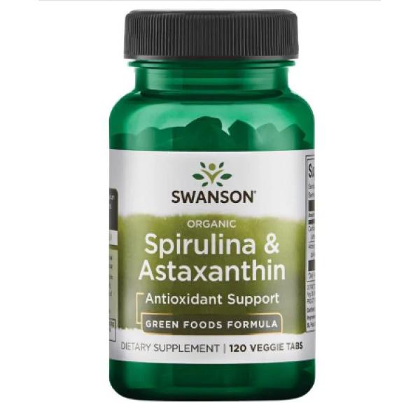 Spirulina Astaxanthin — 120 veggie caps