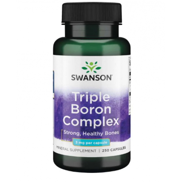 Triple Boron 3mg — 250caps