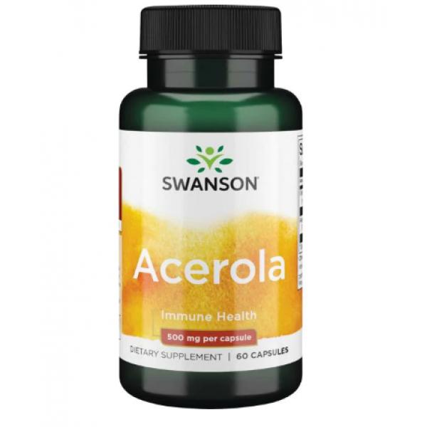 Acerola 500 mg — 60 caps