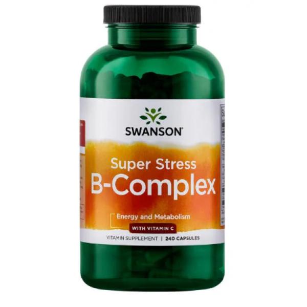 Super Stress B-Complex with Vitamin C — 240 caps