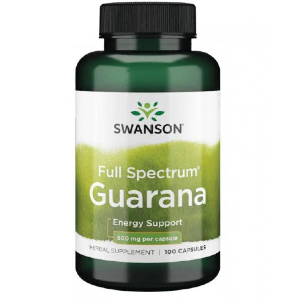 Guarana 500mg — 100caps